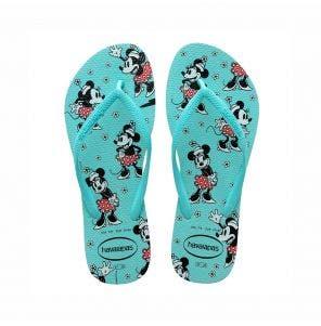 Sandália Havaianas Slim Disney 41/2 Ice Blue
