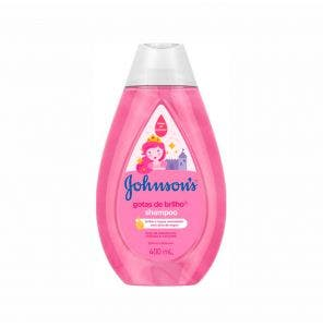 SHAMPOO INFANTIL JOHNSONS BABY GOTAS DE BRILHO 400ML