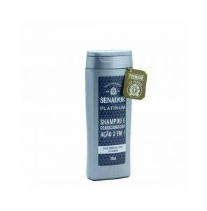 Shampoo Senador Platinum 200ml