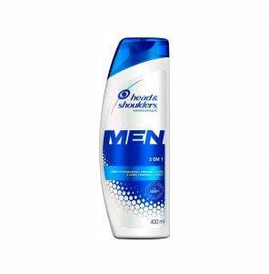 Shampoo Anticaspa Head E Shoulders Homem 3X1 200Ml