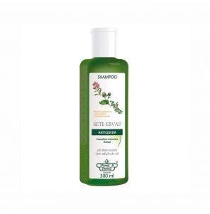 Shampoo Flores E Vegetais Antiqueda Sete Ervas 300ml