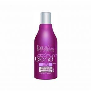 Shampoo Forever Liss Platinum Blond Matizador Blue 300Ml