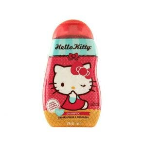 Shampoo Infantil Hello Kitty Cabelos Lisos E Delicados 260Ml