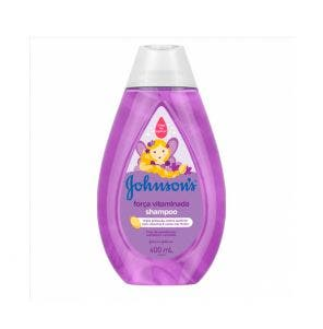 Shampoo Infantil JohnsonS Forca Vitaminada 400Ml