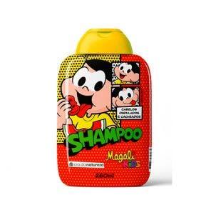 Shampoo Infantil Turma Da Monica Magali Cabelos Ondulados E Cacheados 250Ml