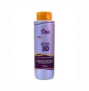 Shampoo Magic Color 3D Matizador Loiro 500Ml