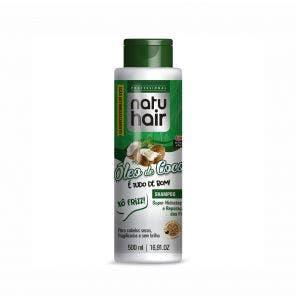 Shampoo Natu Hair Oleo De Coco 500Ml