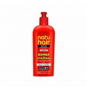 Shampoo Natu Hair Sos Bomba De Vitaminas 300Ml