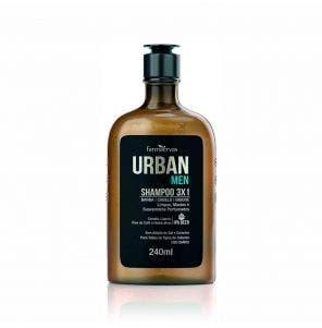 Shampoo Urban Men Ipa 3X1 240 Ml