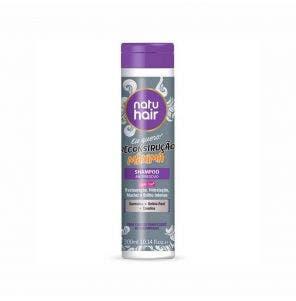 Shampooantirresiduo Natu Hair Reconstrucao Maxima 300Ml