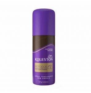 Spray Retoque De Raiz Koleston Castanho Escuro 100Ml