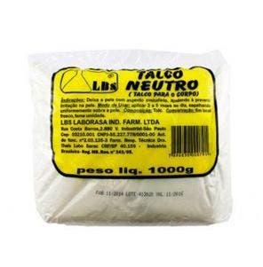 Talco Corporal Neutro Lbs 1000g