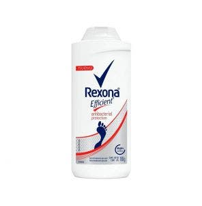 Talco Desodorante Para Pés Rexona Efficient Antibacteriano 100g