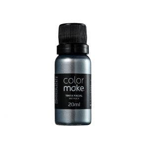 Tinta Facial Colormake Cremosa Metalica Prata
