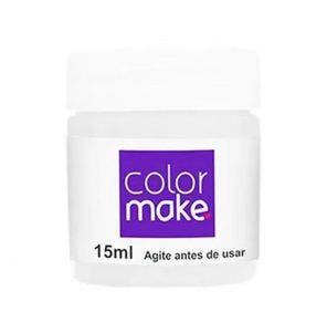 Tinta Facial Pintando A Cara Liquida Branca 15Ml