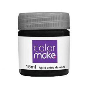 Tinta Facial Pintando A Cara Liquida Preto 15Ml