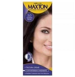 Tintura Maxton Prático 3.0 Castanho Escuro