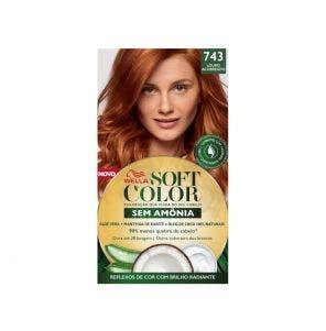 Tintura Soft Color 743 Louro Acobreado