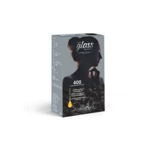 Tintura Tonalizante Acquaflora Kit Hidra Gloss 400 Castanho Natural