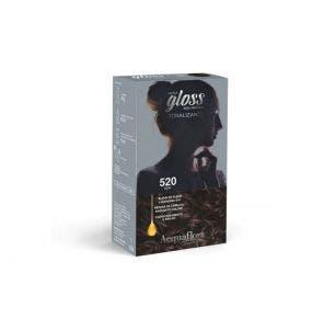 Tintura Tonalizante Acquaflora Kit Hidra Gloss 520 Açaí