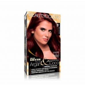 Tintura Beauty Color Kit 5.5 Castanho Acaju