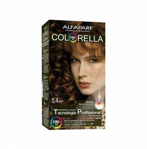Tintura Colorella Kit 5.4 Marrom Cobre