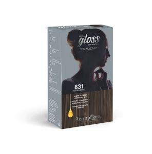 Tintura Tonalizante Acquaflora Kit Hidra Gloss 831 Louro Bege