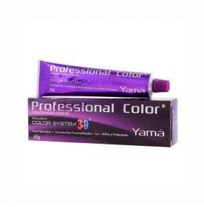 Tintura Yama Prof 3D 6.41 Louro Escuro Cobre Cinza