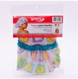 Touca Banho Infantil La Sure Pvc 1Un